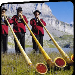 swiss alp horns